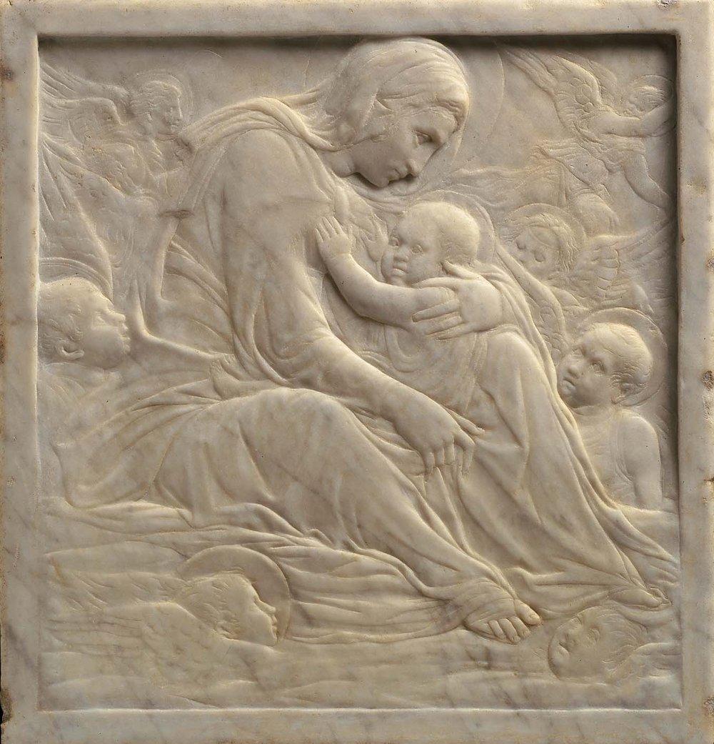 "Donatello, ""Madonna of the Clouds"" (c. 1425-35)"