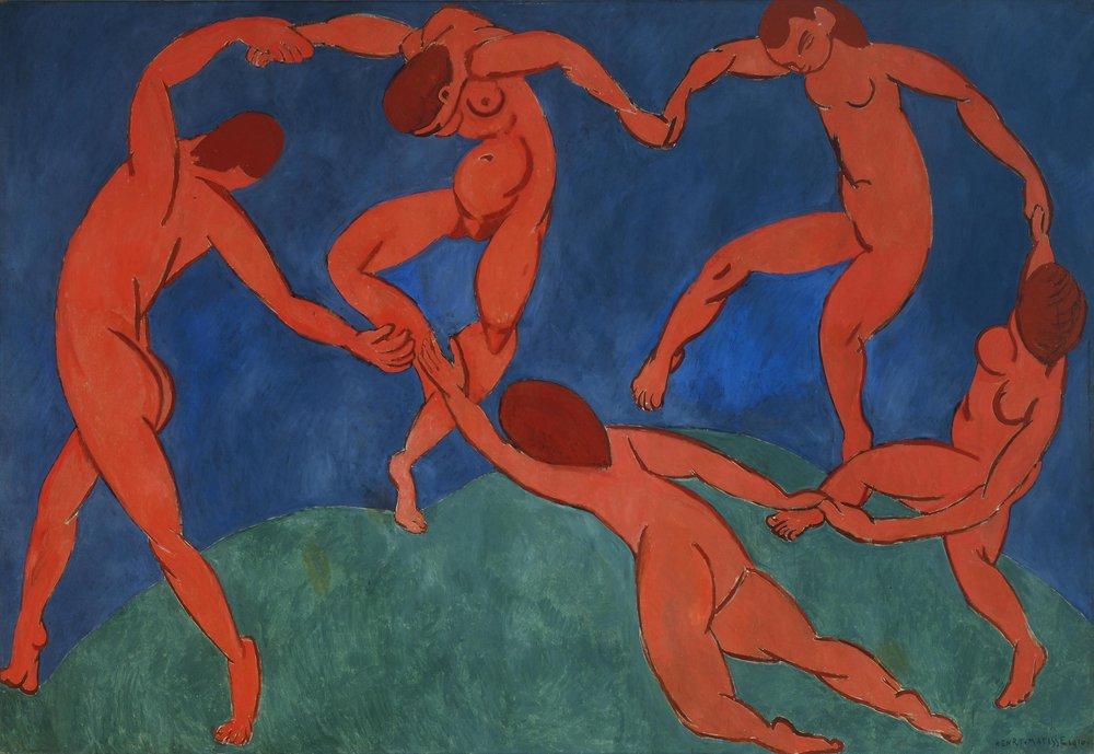 "Henri Matisse, ""The Dance"" (1909-10)"