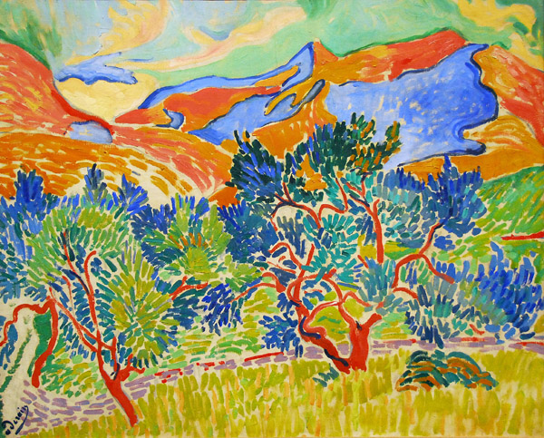 "Andre Derain, ""Mountains at Collioure"" (1905)"