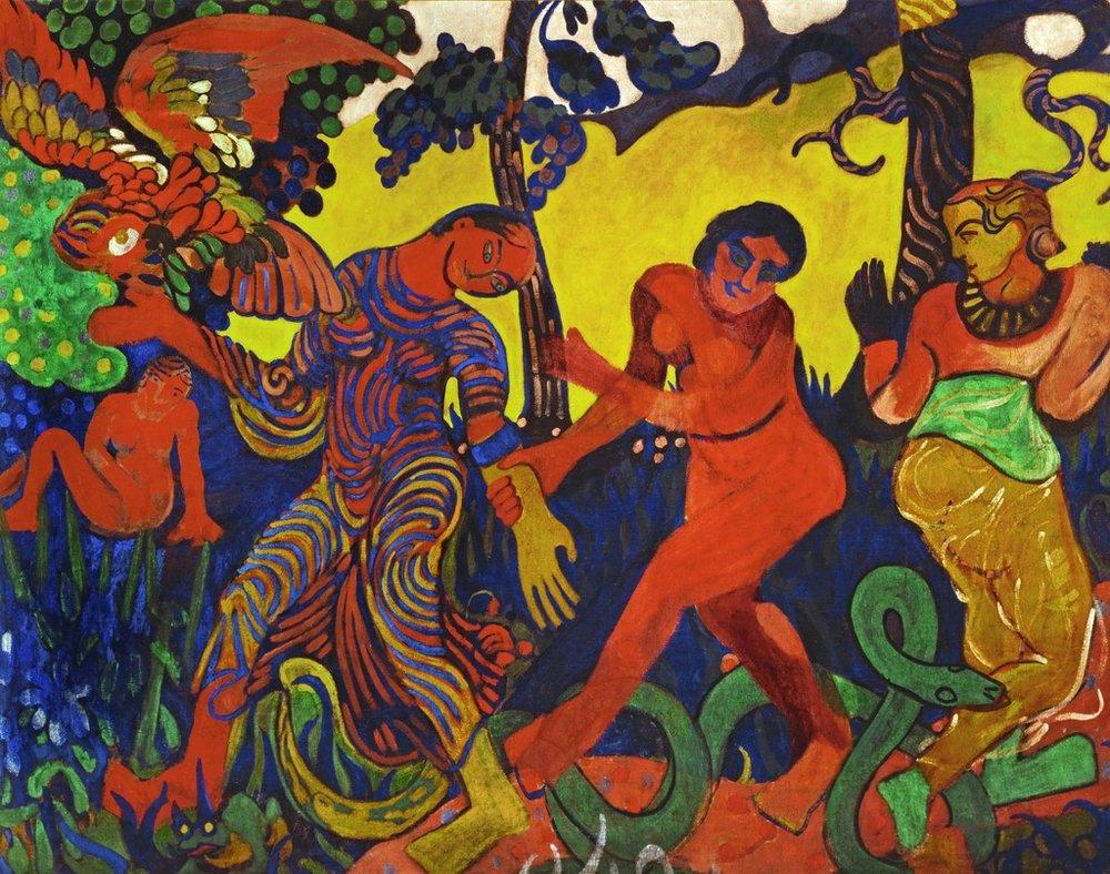 """Andre Derain, """"The Dance"""" (1906)"""