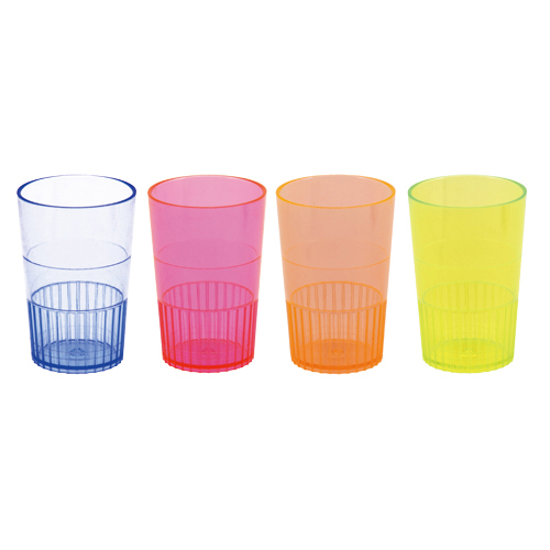 Eight 1.5-oz glasses                            Food-safe plastic                            Disposable