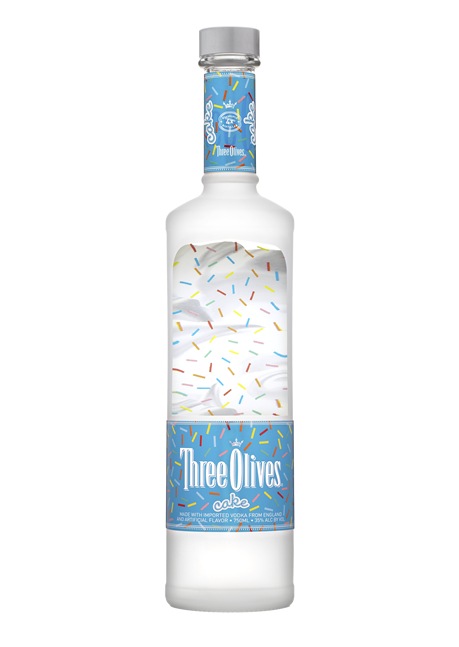 Three Olives Vodka Cake Happy Hour Wine Spirits