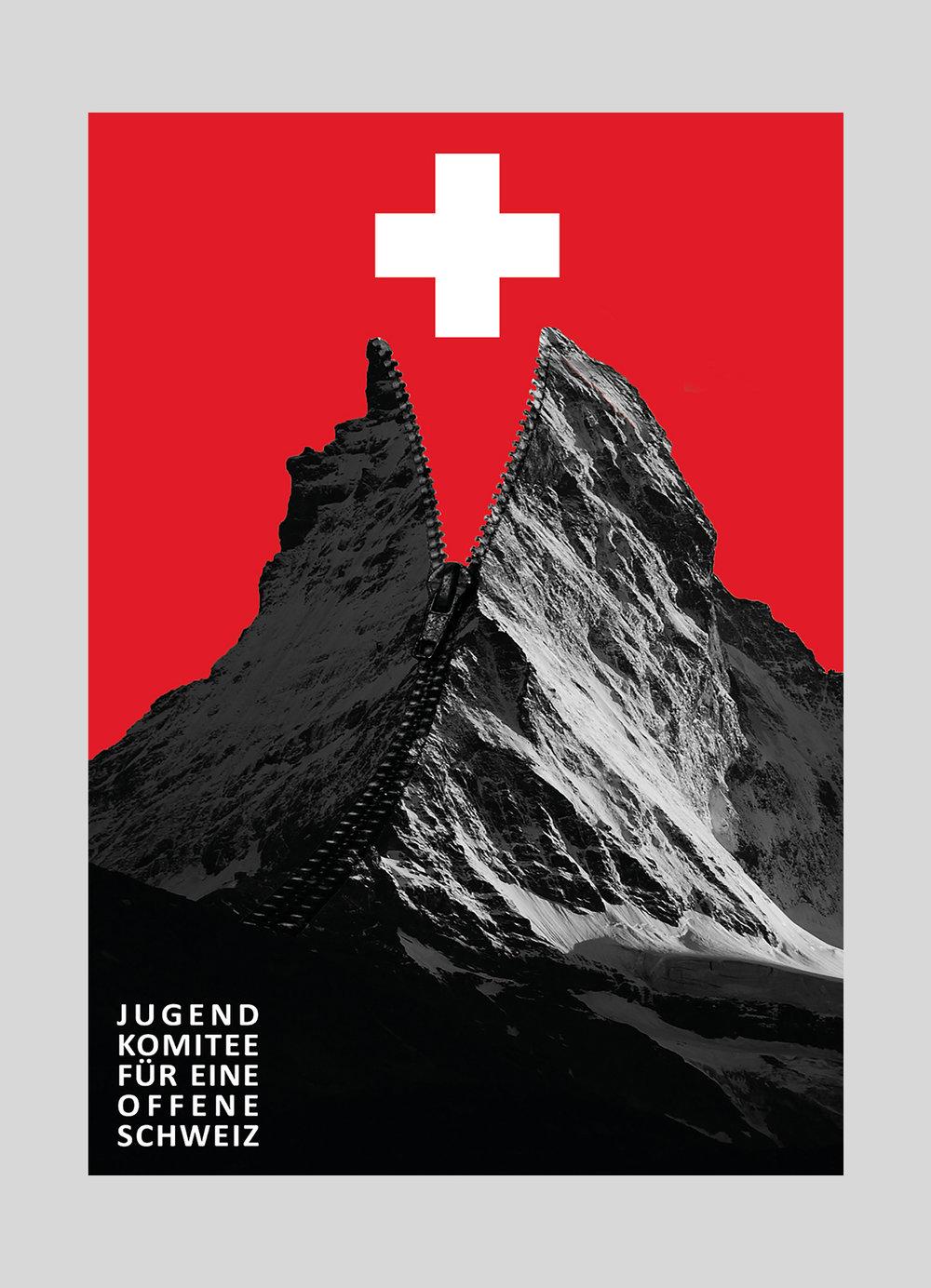 Jugendkomitee – Für eine offene Schweiz | 2015   Komitee, welches die Schweiz als Teil von Europa versteht.