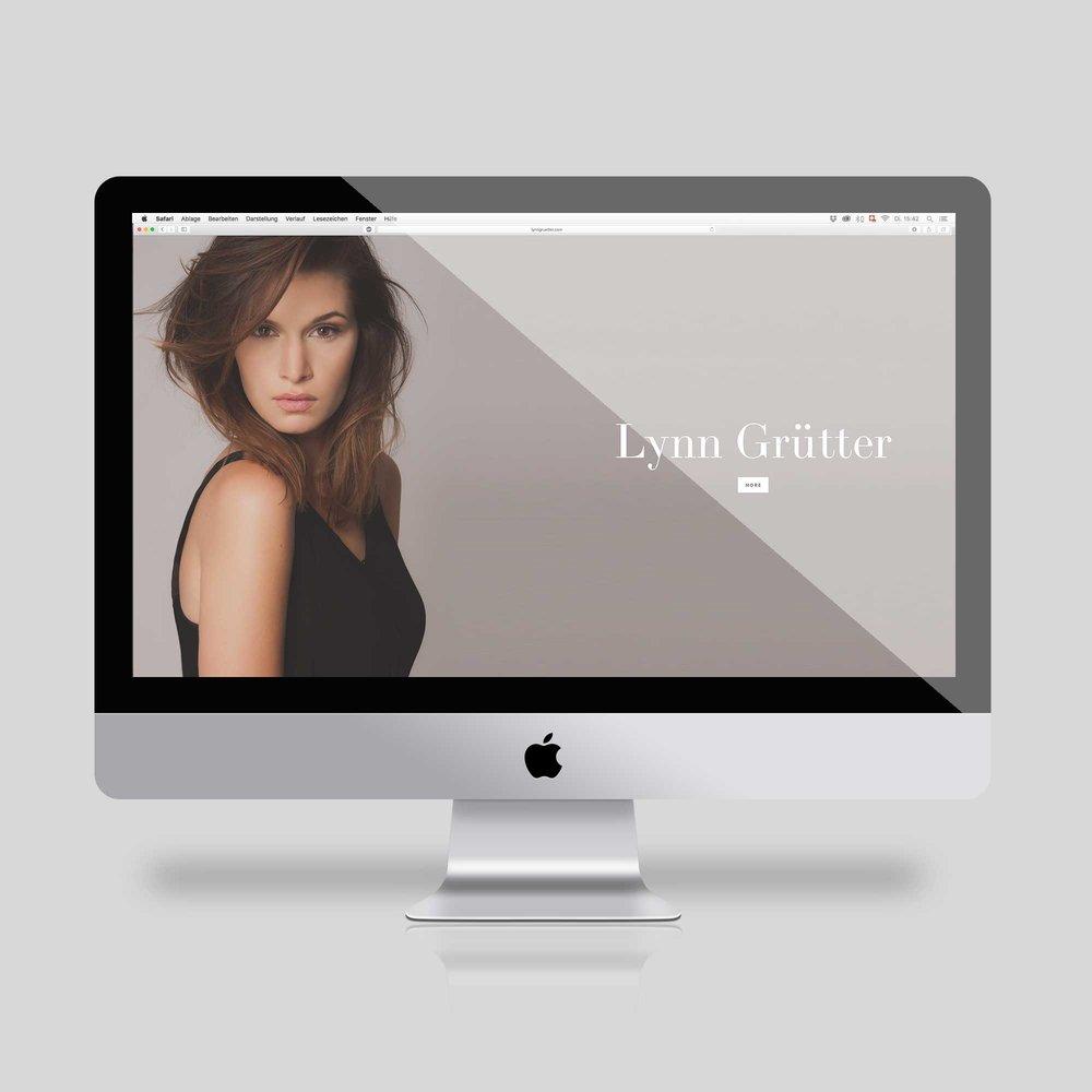 Lynn Grütter – Webpage | 2016
