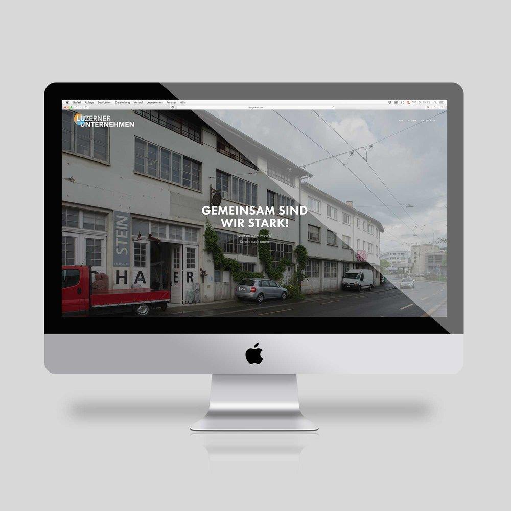 Luzerner Unternehmen – Webpage | 2016
