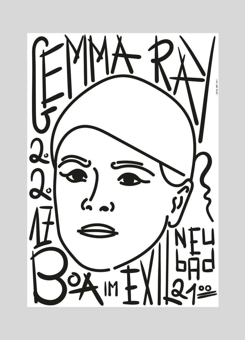Neubad – Gemma Ray [UK] |2017   Düster, mystisch, packend - das ist die Musik der Britischen Songwriterin Gemma Ray.