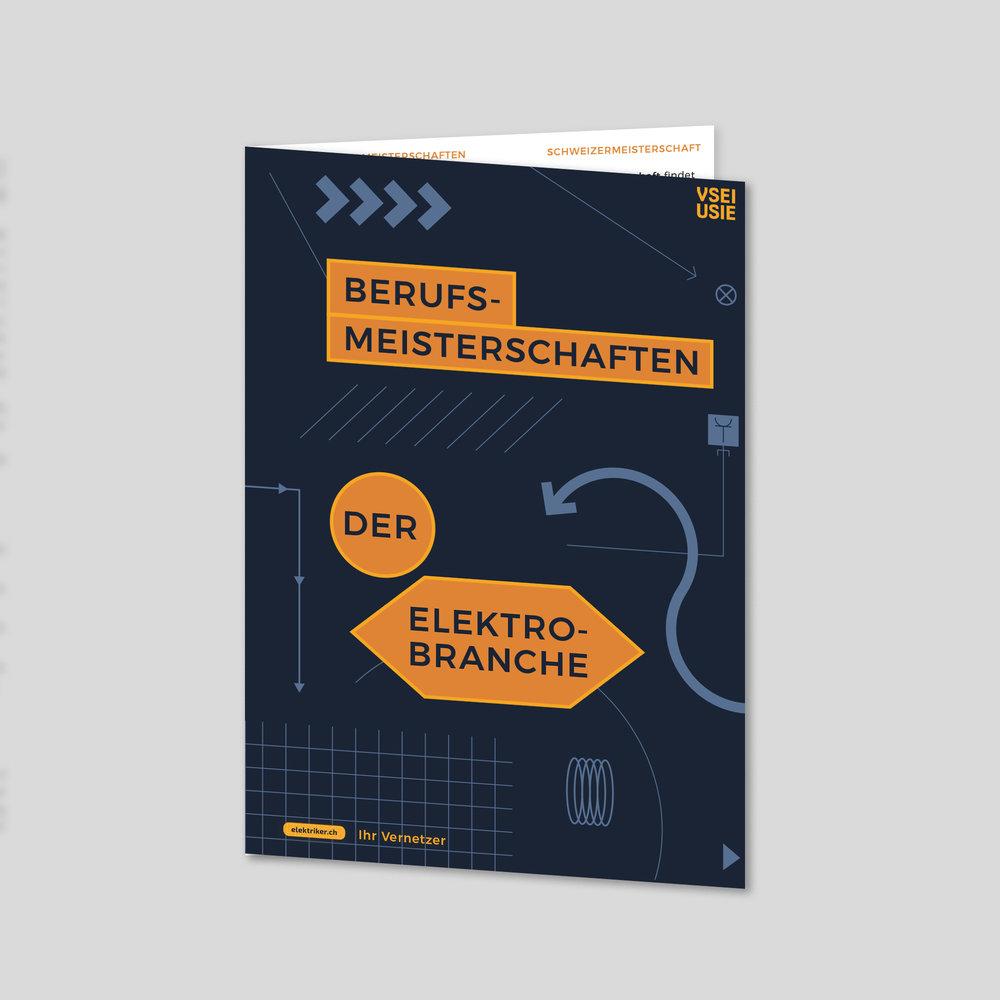 VSEI – Flyer «Berufsmeisterschaften» | 2018