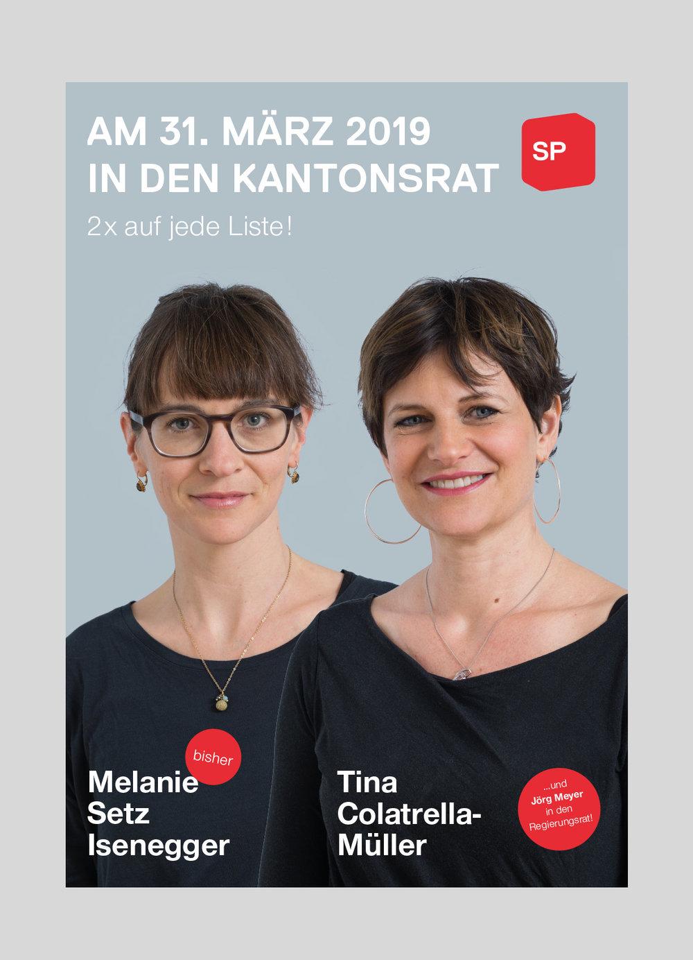 SP Kanton Luzern – Kantonsratwahlen   2019  Kampagne für die Kantonsratswahlen der Sozialdemokratische Partei im Kanton Luzern.