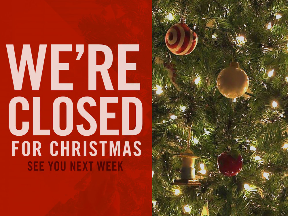 christmas closed