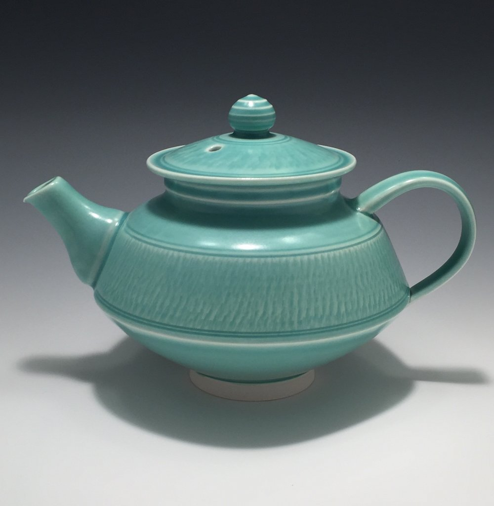 Porcelain teapot by Greg Link