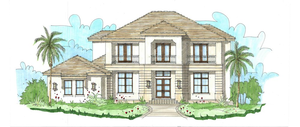 Guilia 4-5 bed | 5 1/2 bath | 3 car garage 5,661 sq. ft.