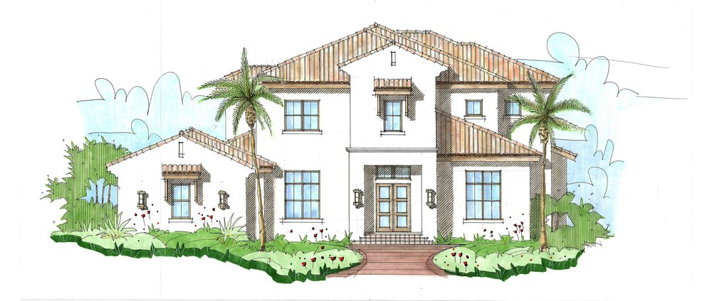 Luna Blue 4-5 bed | 5 bath | 3 car garage 5,607 sq. ft.