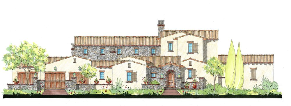 Villa Paradiso 5 bed | 5 & 2- 1/2 bath | 4 car garage 6,961 sq. ft.