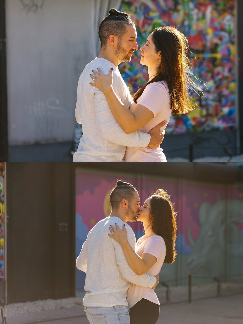 Wynwood Walls Engagement Photography