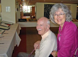 Elderwise Art Auction 2011 - reviewing the artwork