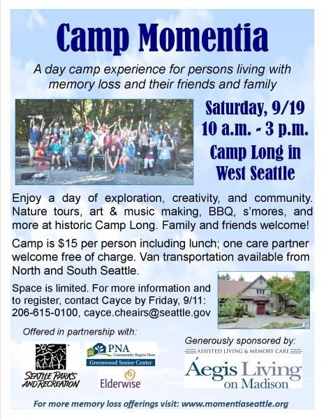 Camp Momentia Flyer 2015