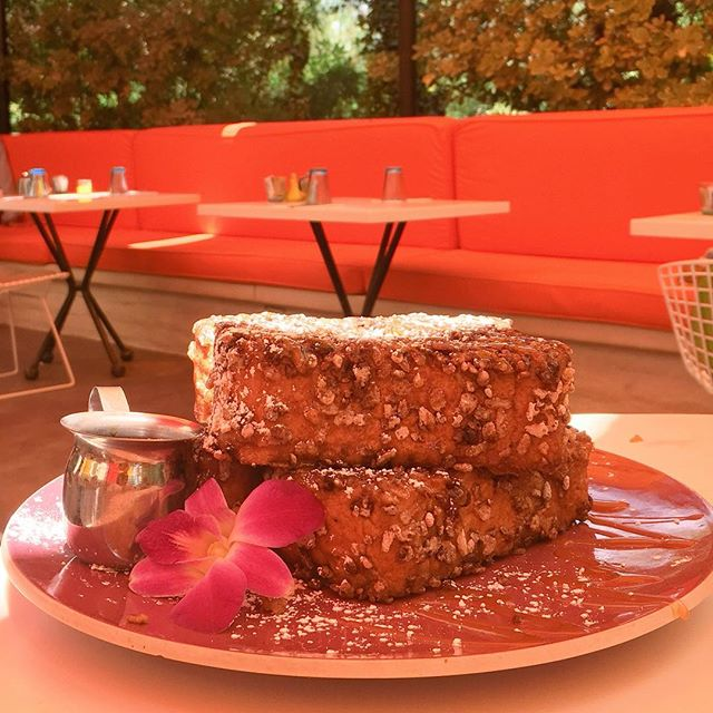 Holy moly, the Best French toast on the planet 😲🍞🌺