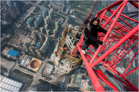 The Skywalker - Vitaliy Raskalov overcame his fear of heights by scaling the world's tallest buildings, ignoring any need for safety measures. But now that he's reached the top of his game, the 24-year-old adventurer is ready for a new start.