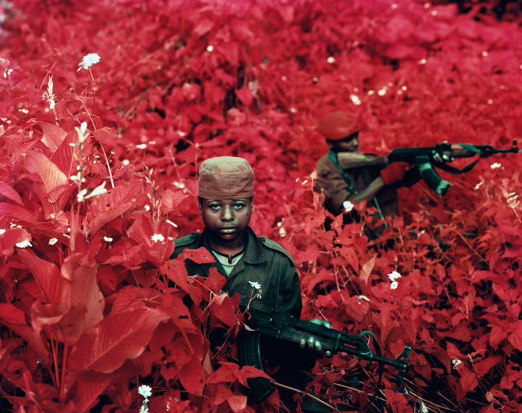 Richard Mosse, Vintage Violence, 2011 from the project Infra
