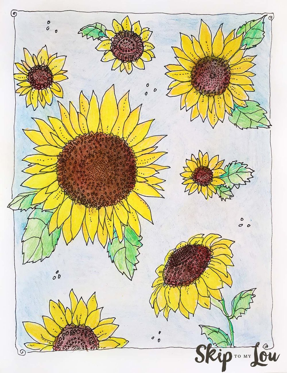 sunflower-coloring-page-Kansas-Day.jpg
