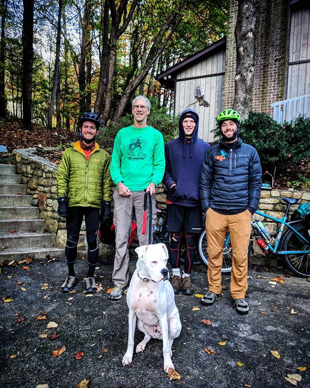 Thanks to Steve, Debbie (not pictured), and Apollo for hosting us just south of Roanoke, Virginia - Steve rode cross country in 1980 and is considering another cross country trip in 2020 for the 40th anniversary!