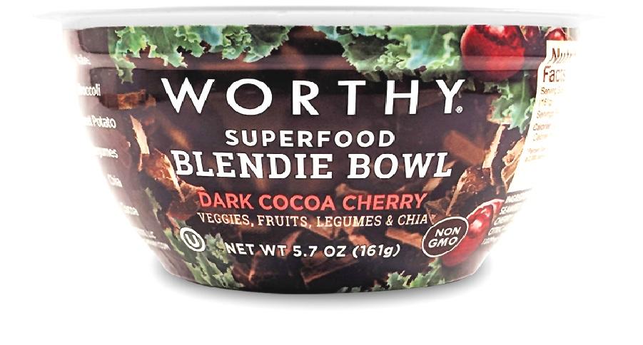 Dark Cocoa Cherry 5.7oz Blendie Bowl