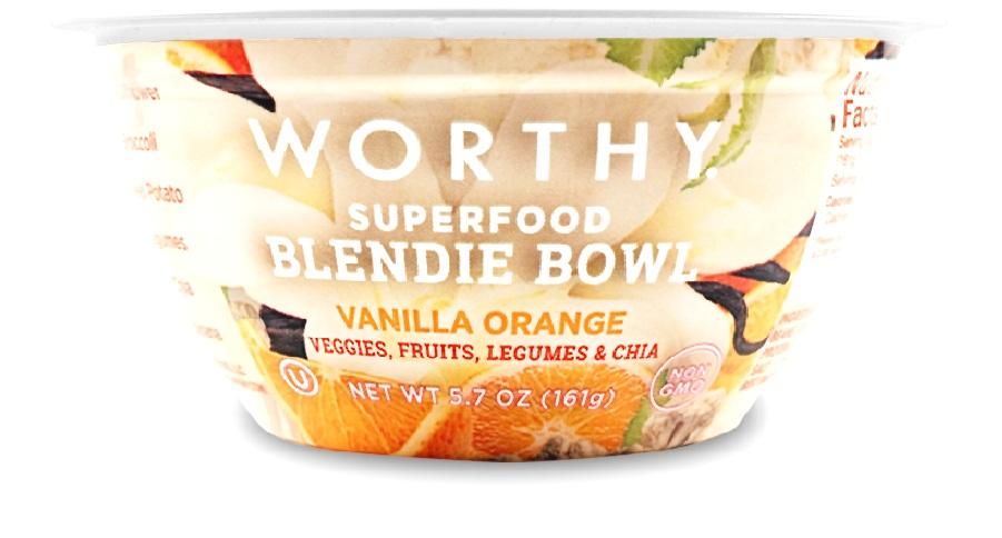 Vanilla Orange 5.7oz Blendie Bowl
