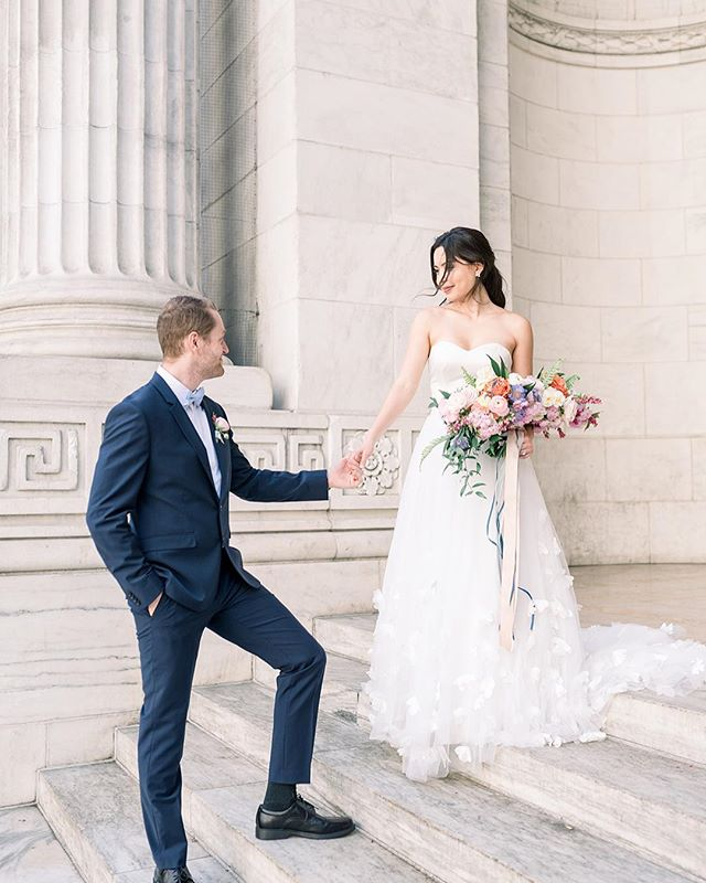 So excited to share these dreamy pics of @tatianiyuki and @lukas_gaun from a recent shoot at some of my favorite NYC landmarks!! • Where is your dream venue? ☁️ ☁️ . . .  Photography: @fabianaskubic  Floral Design: @whisperandbrookflowerco  Invitation suite: @plumeandfete  Hair & Makeup: @brittanyannbeauty  Dress: @lyravegabridal . . . #potd #photo #photooftheday #makeupartist #nyc #nycmua #mua #nymakeupartist #philadelphia #philly #philadelphiamakeupartist #weddingmakeup #wedding #phillyinlove #weddingplanning #weddingdetails #nycwedding #newyorkwedding #nypl #weddinginspiration #justengaged #weddinginspo #bridetobe #phillywedding #philadelphiawedding #njwedding #newjerseywedding #njbride #phillybride #theknot