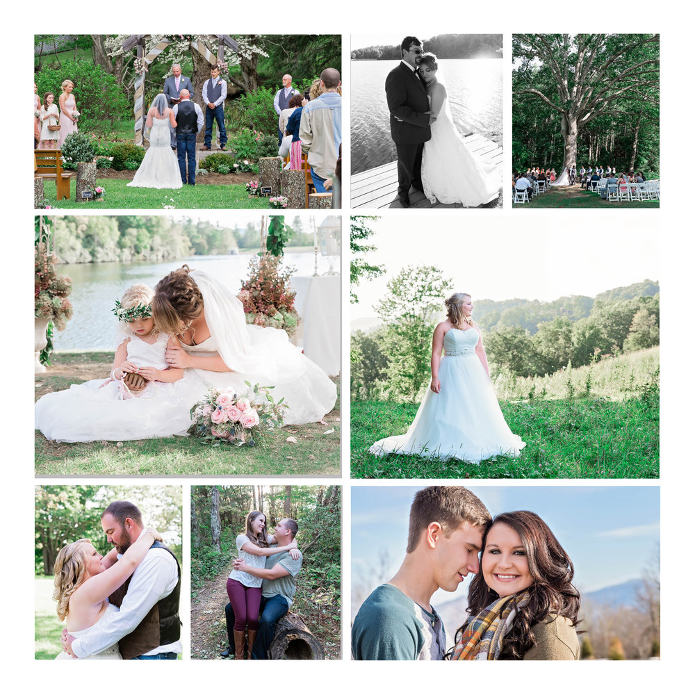 Shannon Benfield Wedding Photographer | Triple J Farm Roan Mountain TN