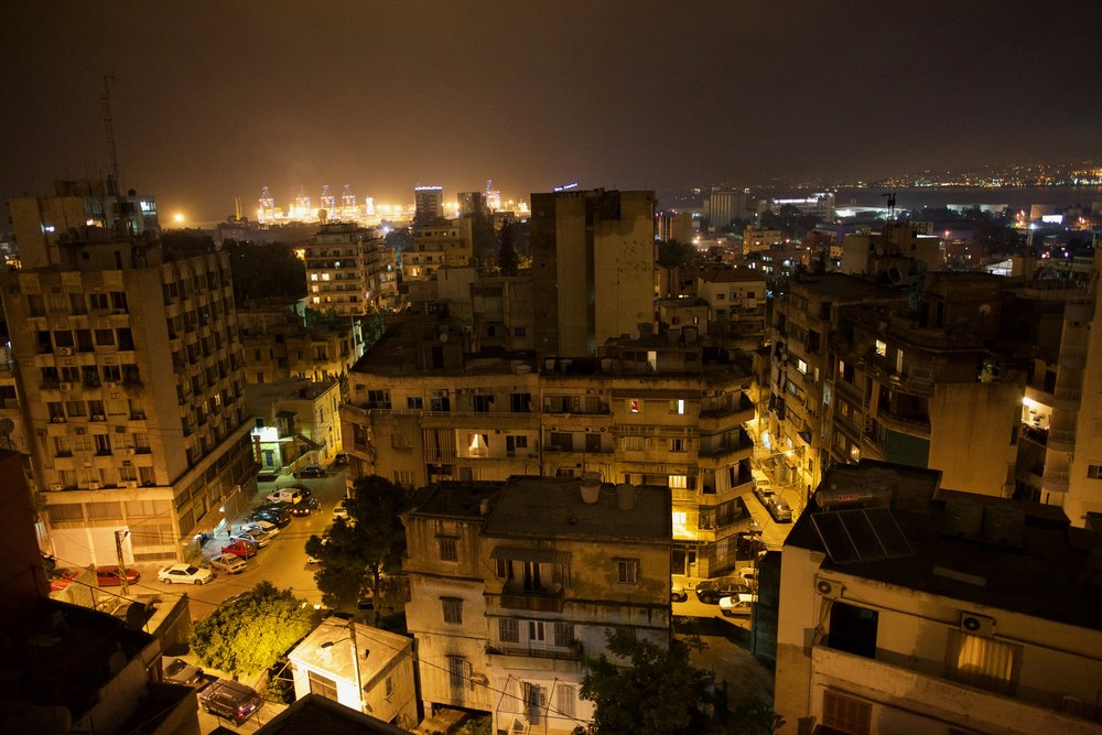 A view of Geitawi, a portside neighborhood in Beirut, Lebanon.