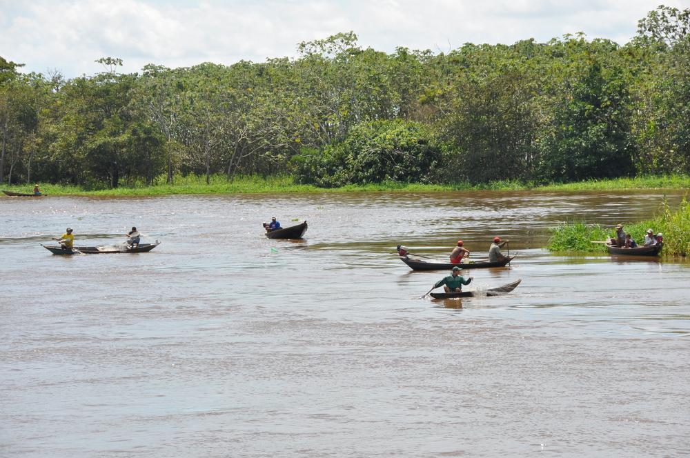 Pesca artesanal no Baixo Amazonas
