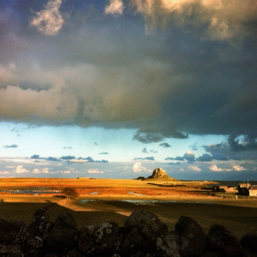 Lindisfarne also known as Holy Island,on the North East coast of England.