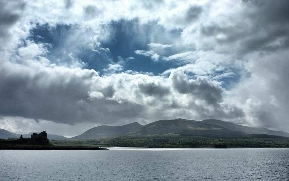 photo from the ferry ride to Iona, Scotland