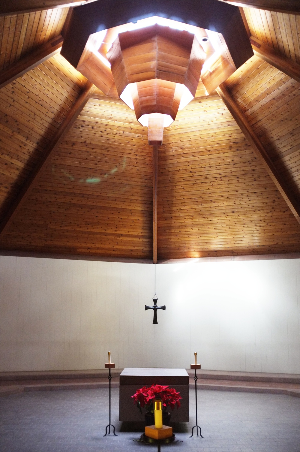 Inide the chapel