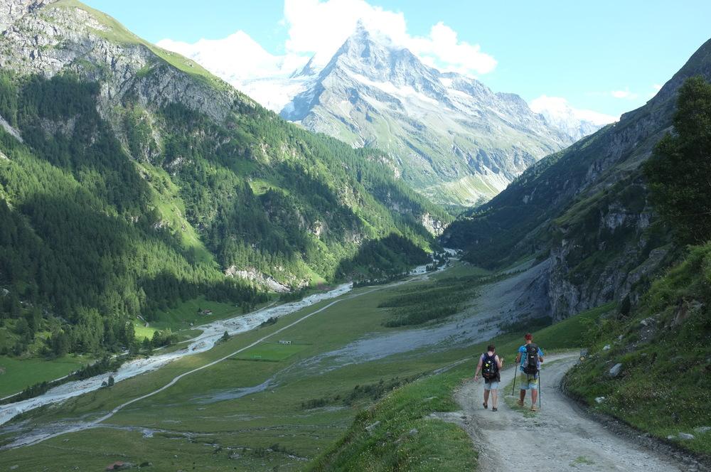 Along the Walker's Haute Route, Switzerland August 2013