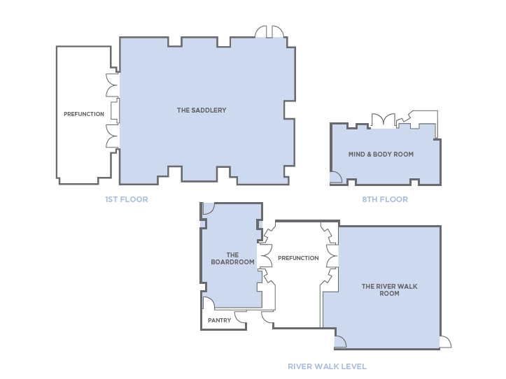 Hotel Layout - Meeting Spaces