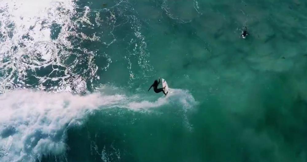 Aloha Nalu lava girl surf