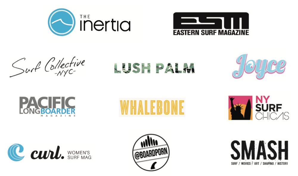 media partners ny women's surf film festival