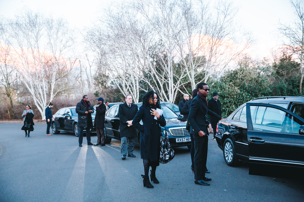 Mortlake Crematorium Funeral Photographer London