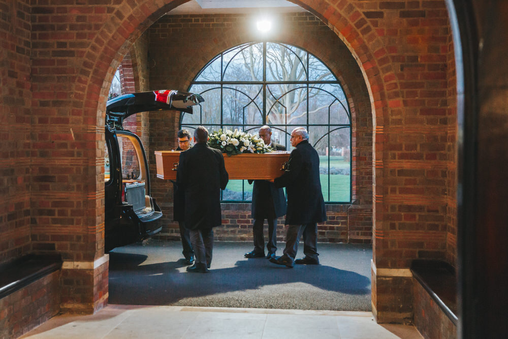Mortlake Crematorium Funeral Photography London