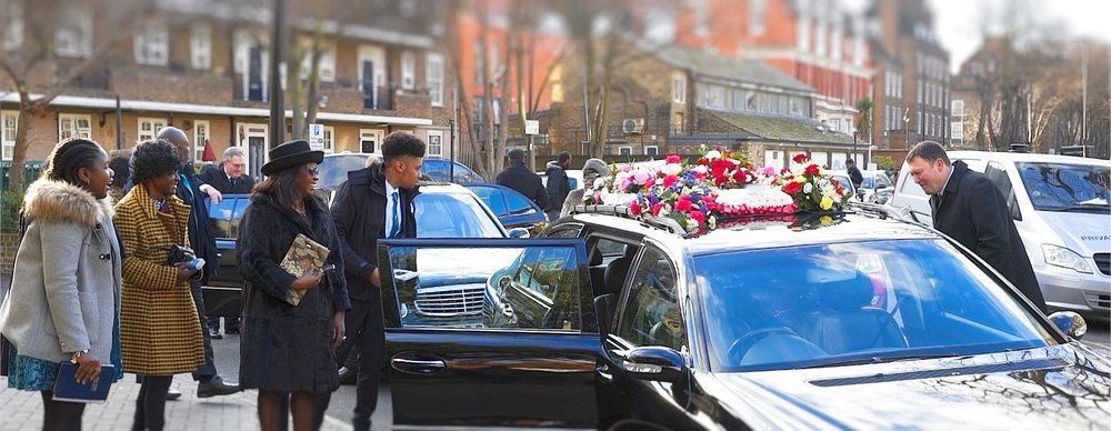 February 2018 - Streatham Cemetery -  London Funeral Videographer  (Video Still)