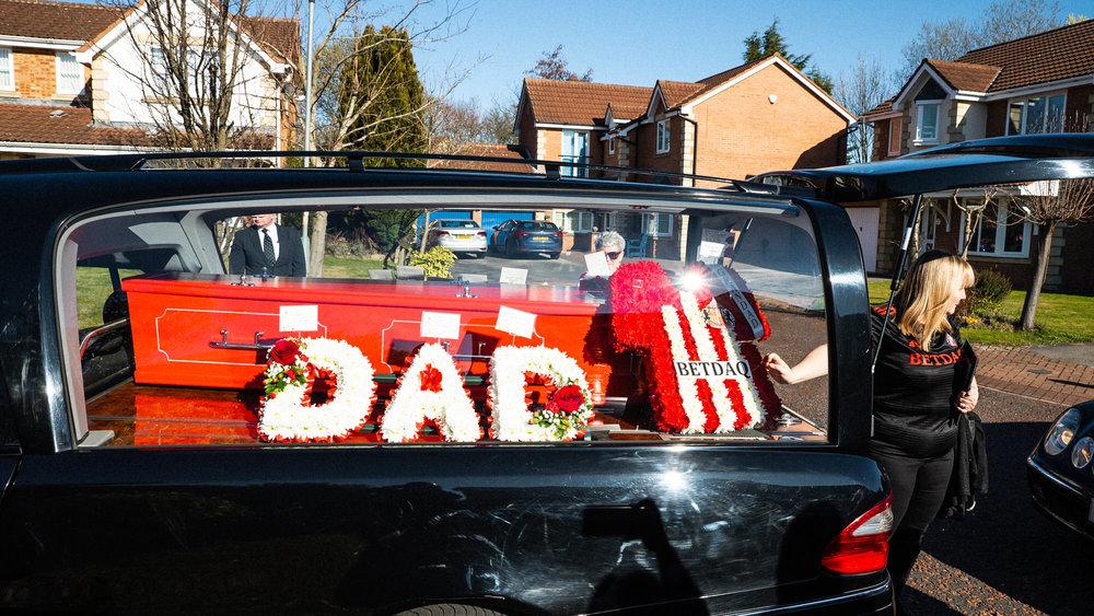 Durham Funeral Photographer at Wear Valley Crematorium