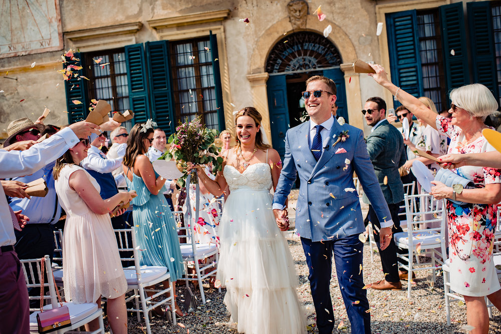 Gaby & Stuart Destination wedding Verona, Italy