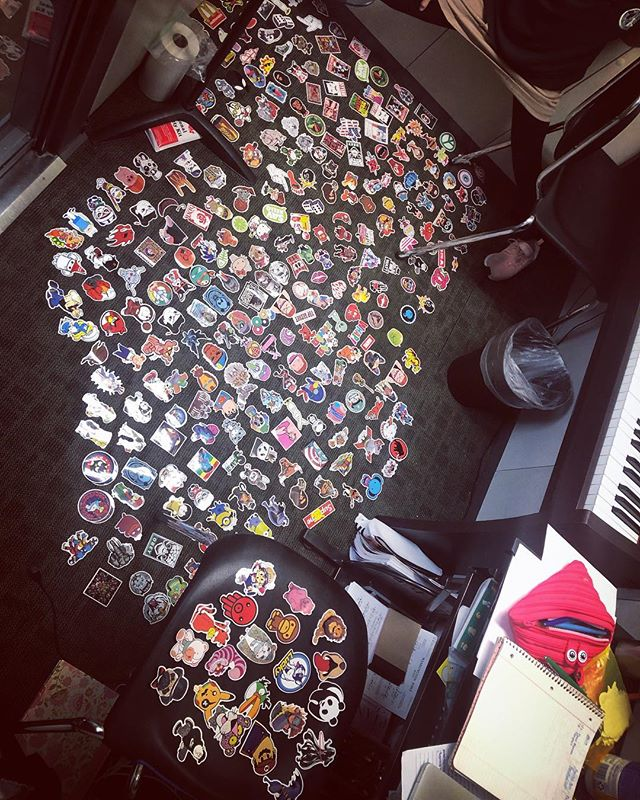 We take stickers VERY seriously in my piano studio 🎹🎶 #musicteacher #stickersfordays #stickers #elementaryschoolcurrency 💵💵💵
