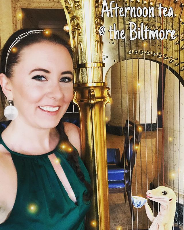 Afternoon tea at the @biltmorehotel in #Miami 🌴☀️ #livestream on @facebook 🎶🎶🎶 #livemusic #miamimusic #irishmusic #stpatricksday #luckoftheirish 🍀