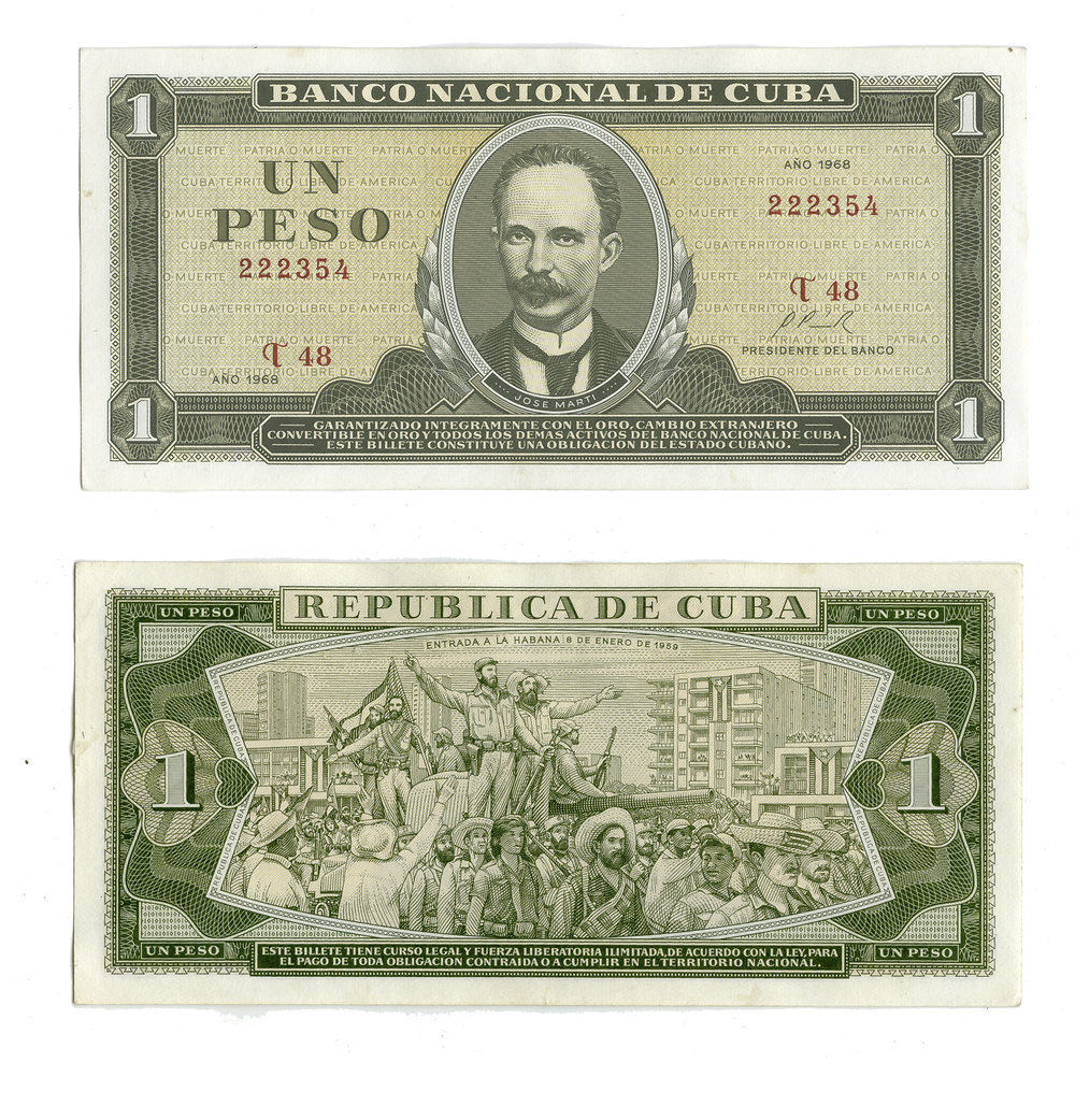 Cuban Moneta Nacional
