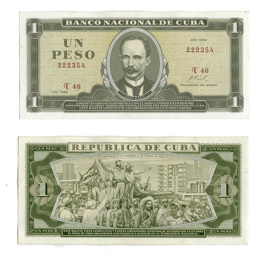 Cuban Moneta Nacional