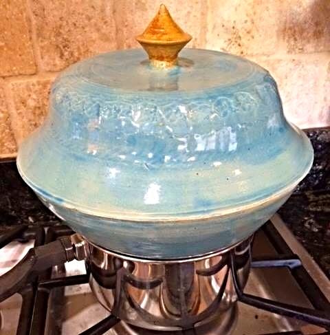 Stoneware Steamer