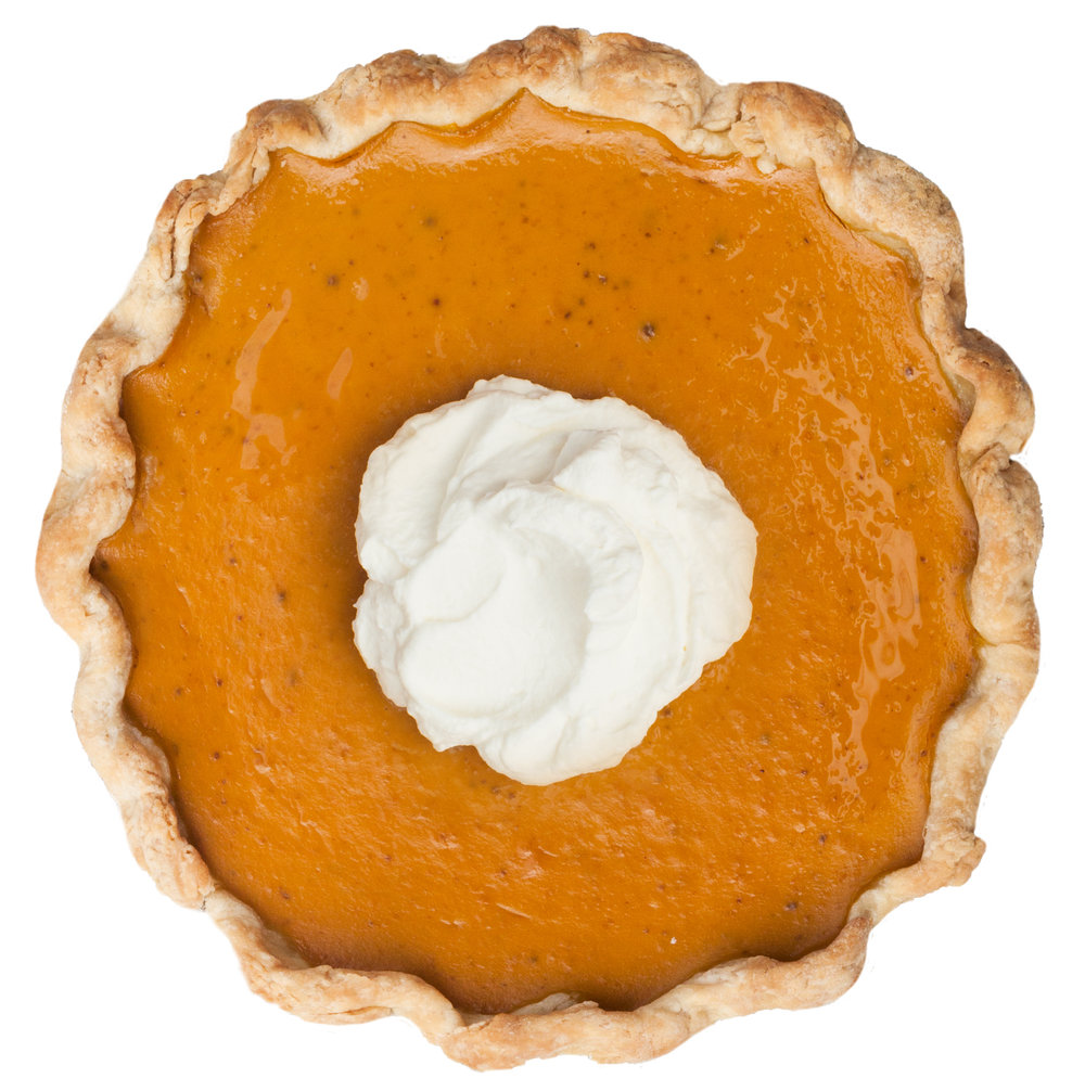 fall brandied pumpkin pie