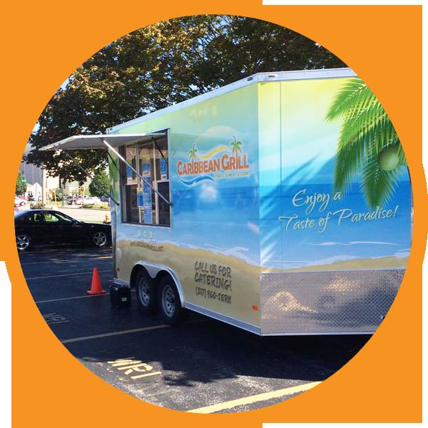 Caribbean Grill™ Food Truck